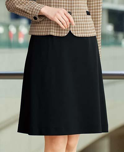 Aラインスカート 51873 (アンジョア)