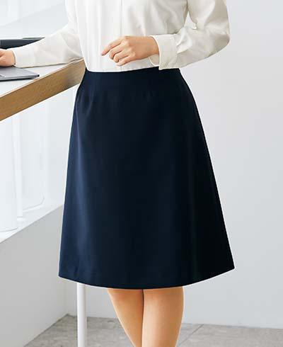 Aラインスカート 52023 (アンジョア)