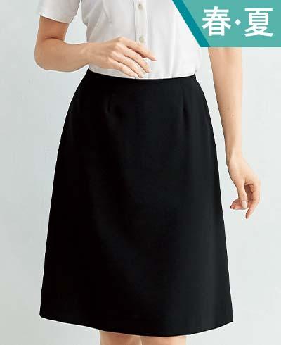 Aラインスカート 56615 (アンジョア)