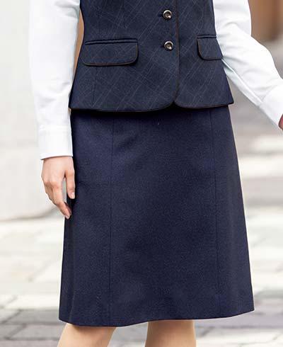 Aラインスカート AS2328 (ボンオフィス)