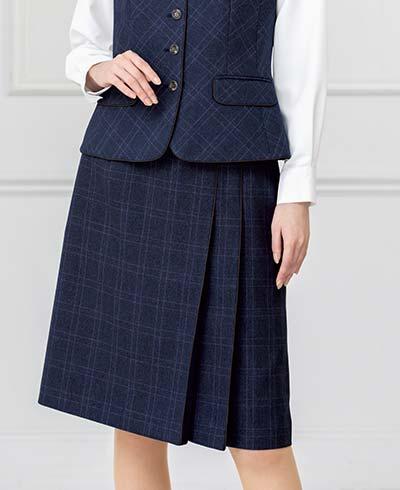 プリーツスカート AS2330 (ボンオフィス)