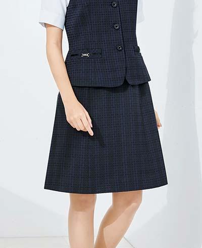 Aラインスカート BCS2109 (ボンシェルジュ)