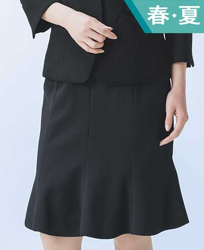 マーメイドラインスカート ESS469 (ENJOY Noir)
