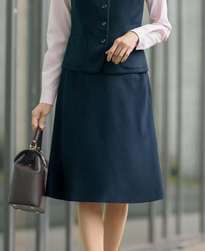 Aラインスカート S-1212 (セロリー)