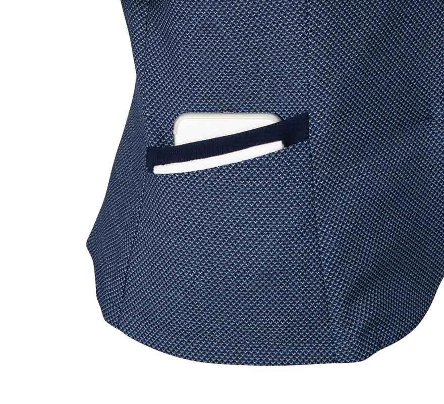 隠れるフロントファスナーですっきり着こなせるオーバーブラウス+スカートセット - FB71381/FS45961商品画像8