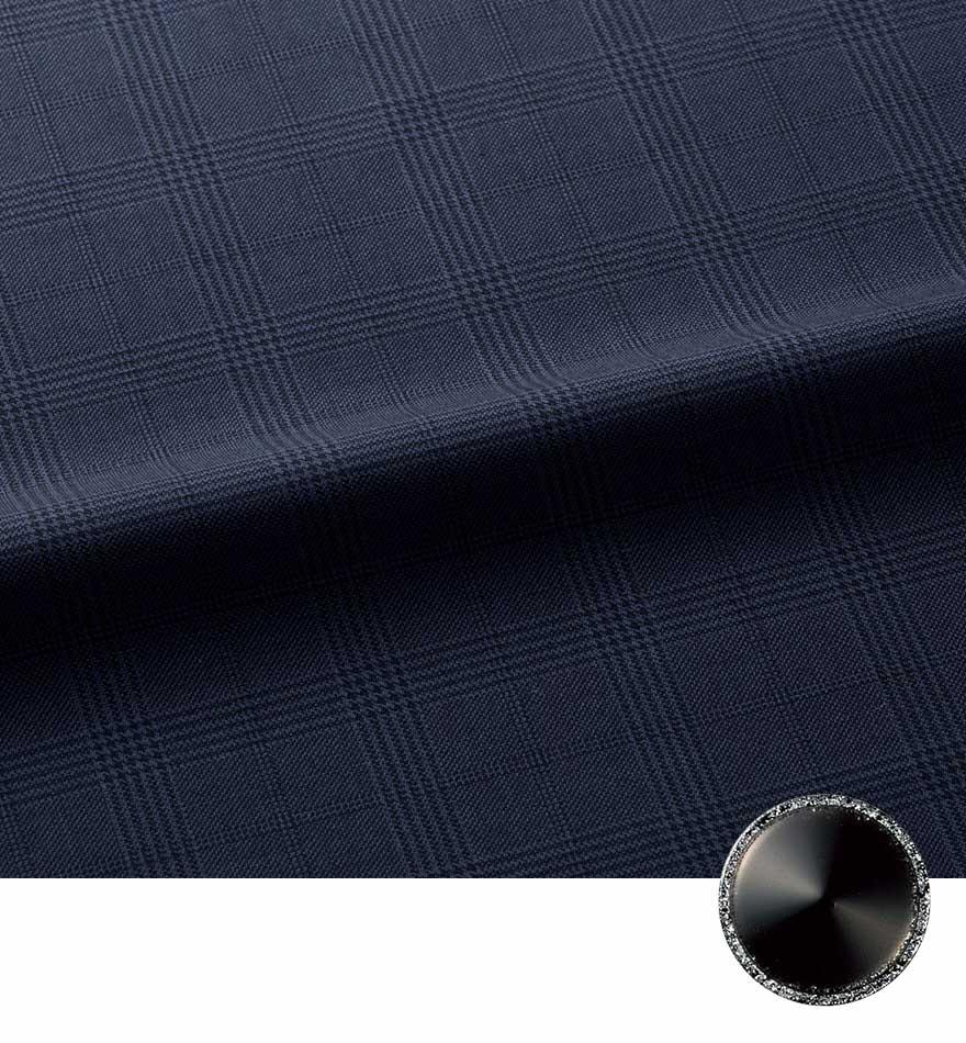 エイジレスに着られるクラシカルモダンな上品ベスト+スカートセット - FV36380/FS45950商品画像8