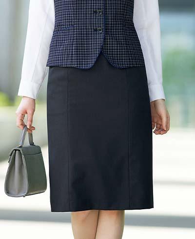 絶妙カラーであか抜けた印象のベスト+スカートセット- EAV821/EAS822商品画像5