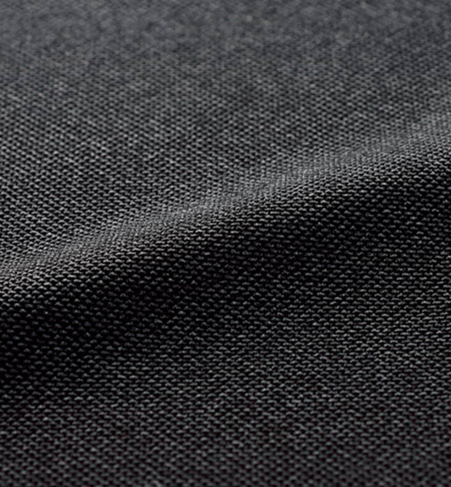 表情豊かな杢グレーが格調高く見せる、しっかり肉厚のストレッチ素材のベスト+スカートセット - 9762/9858商品画像6