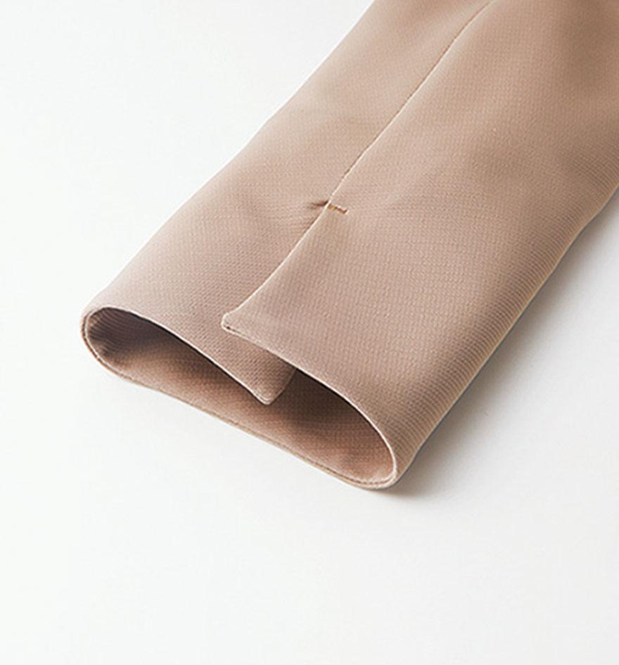美しいドレープが魅力!ペプラムがアクセントのジャケット+スカートセット - 9185/9857商品画像5